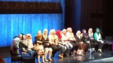 Syria TRojan Women on Stage in London Water Futures_Cynthia