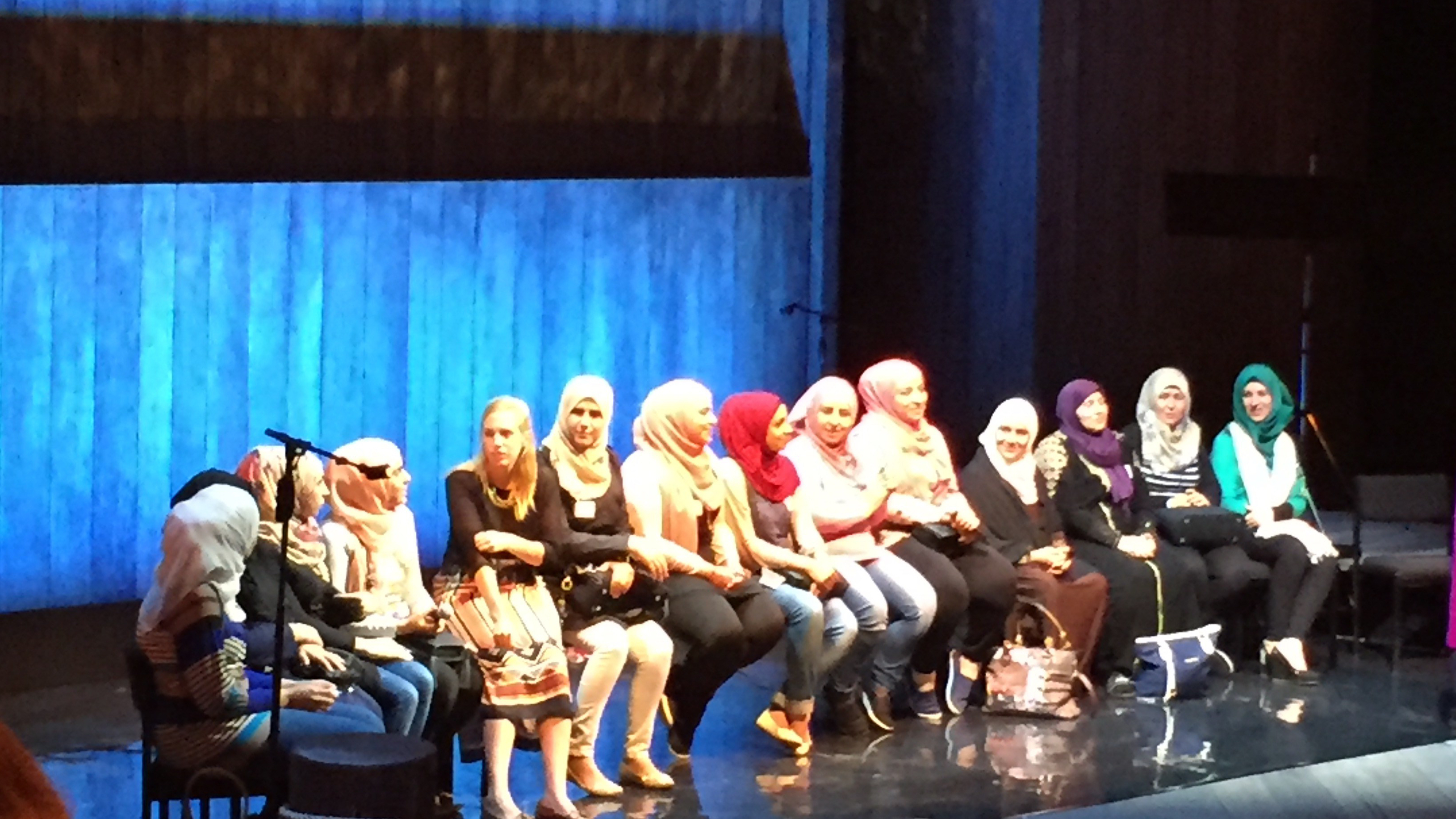 Syria TRojan Women on Stage in London Water Futures_Cynthia