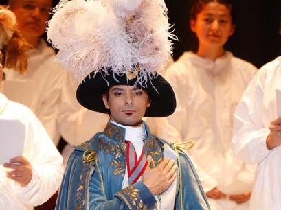Shanul Sharma in Il Viaggio a Reims at the Bolshoi Theatre, Moscow